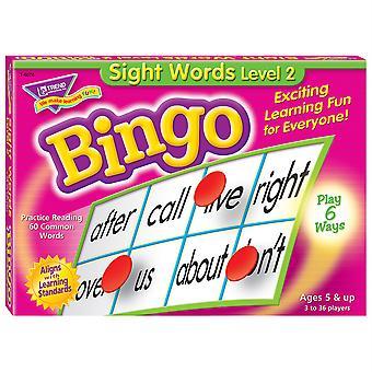 Gioco bingo di livello 2 di Sight Words
