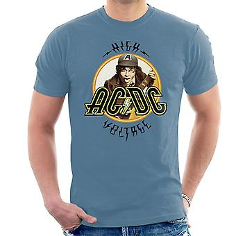 AC/DC High Voltage Angus Young Men's T-Shirt