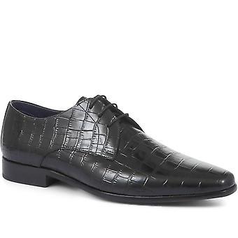 Jones Bootmaker Mens Dion Men's Lederen Derby Schoenen