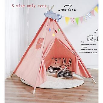 Nordic Style Wooden Support Canvas Tent - Baby Play House Tent