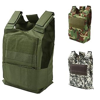 Camouflage Hunting Military Tactical Vest Wargame Body Molle Armor Hunting Jack CS Outdoor Jungle Eq