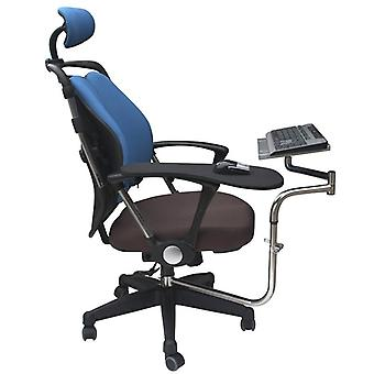Chair Clamping Keyboard Holder+mouse Pad Holder