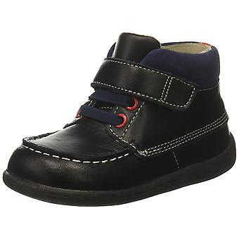See Kai Run Boys Owen Leather Ankle Buckle Fashion Boots