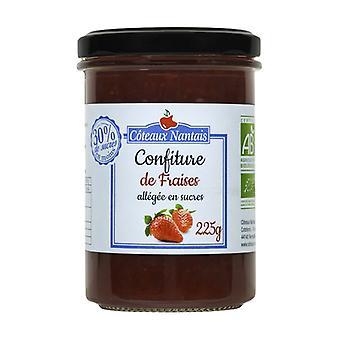مربى الفراولة المُقلّل في السكريات (-30٪) 225 غ