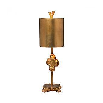 Lámpara De Mesa Kruis Dorado