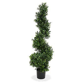 Künstliche Buchsbaum Spirale Deluxe 100 cm