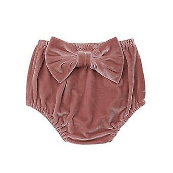 Søt baby fløyel bunn bloomer pp casual shorts bleie