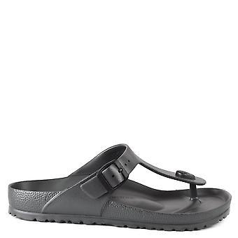 Birkenstock Gizeh Eva Thong Sandals Anthracite