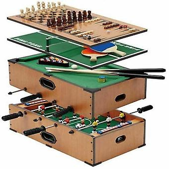5 In 1 Deluxe Table Top Game Set