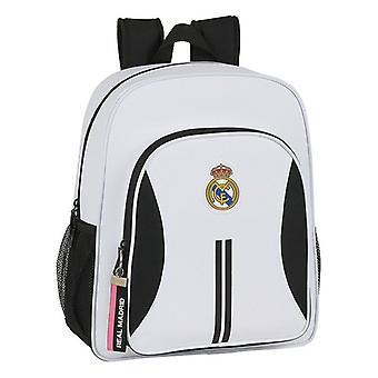 Skolväska Real Madrid C.F. 20/21 Vit Svart