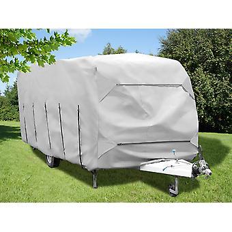 Caravan cover, 5.2x2.5x2.25 m, Grey
