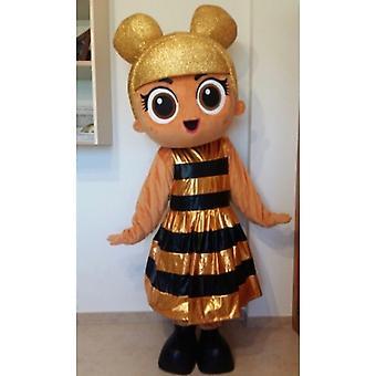 Heißer Verkauf Erwachsene Baby Queen Bee Maskottchen