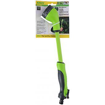 extendable spray head eight positions 38 cm green/grey
