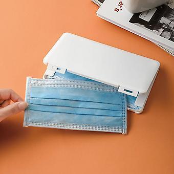 Portable Dustproof Moisture-proof Storage Box Mask Case Storage Box