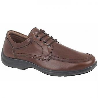IMAC Miller Mens Leather Apron Shoes Brown