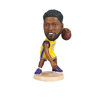 Los Angeles Lakers Anthony Davis Bobblehead Action Figure Statue Basketball Doll