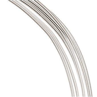 1 uncja (7,5 stopy) 99,9% cienki srebrny drut 16 gauge round dead soft