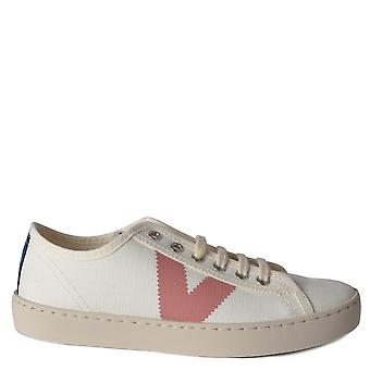 Victoria Shoes Berlin Canvas Low Top Trainers Rosa