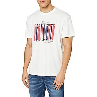 Pepe Jeans Bentley T-Shirt, Ivory (Mousse 808), Unique (Size Manufacturer: X-SMA L) Men