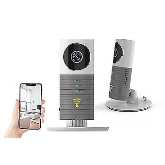 Grey smart home security camera hd wireless night vision camera baby monitor mobile detecter cai872