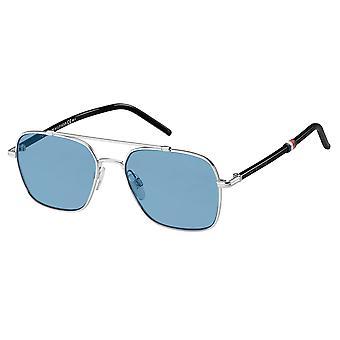Tommy Hilfiger TH1671/S 010/KU Palladium/Blue Sunglasses