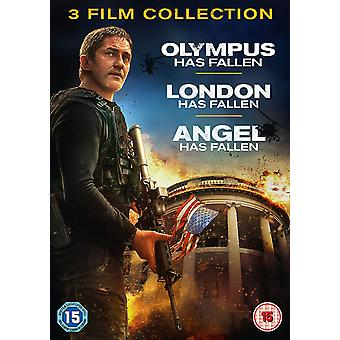 3 Film Collection - OLYMPUS/Londres/Angel Has Fallen DVD
