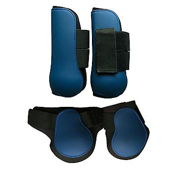 Adjustable Band Outdoor Front Hind Horse Leg Boots