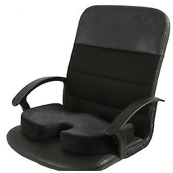 Black memory foam seat cushion for car seats,home office & travel cushion az14613
