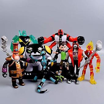 Ben 10 Actie figuur Omnitrix figuur monster model speelgoed set