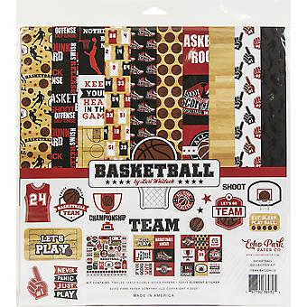 "Echo Park Collection Kit 12""X12"" - Baloncesto"