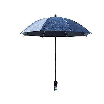 Stroller Adjustable Rotatable  Umbrella Sunshade Sun Protection Waterproof Rain