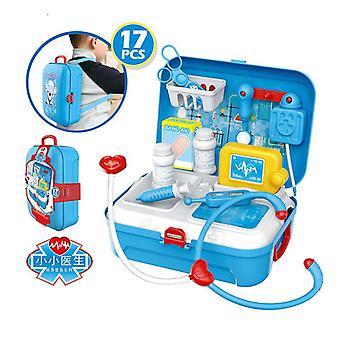 Ragazzo simulazione medico strumento zaino zaino-finto regalo per i bambini-stacking gioco di giocattoli bambino-attività educative per bambini in età prescolare