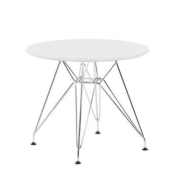 SKLUM Brich Scand BRICH metalen tafel KIDS Ø60 MDF - Staal