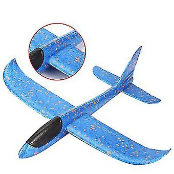 Flugzeugspielzeug für Kinder, Fliegende Flugzeuge für Jungen Mädchen (Blau)