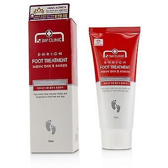 3W klinik berika Foot Treatment 100ml/3.3 oz