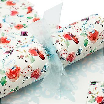 10 große florale Wunderland-Cracker - Machen und füllen Sie Ihr eigenes Kit ohne Bänder