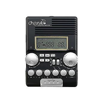 Drum kits cherub wrw-106 drum metronome rhythm trainer professional multi function digital electronic drum