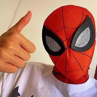 Dětská spider pokrývka hlavy Cosplay Mimořádný černý Spiderman Funny Halloween Mask Mask Mask