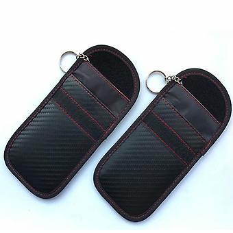 Hacker Jammer Anti-Strahlung Auto Schlüssel Schutz Tasche 2 Stück