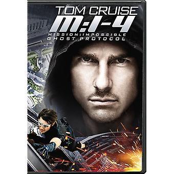 Missão: Impossível – protocolo fantasma [DVD] EUA importar