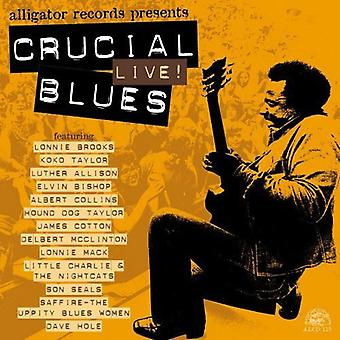 Crucial Blues vivo - Crucial Blues en vivo [CD] USA importar