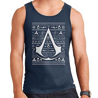 Christmas Knit Assassins Creed Men's Vest