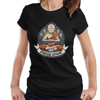 Spiritual Retreat Avatar The Last Airbender Women's T-Shirt