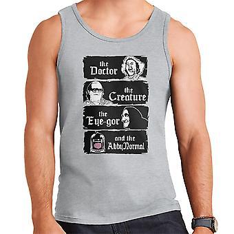 The Doctor The Creature Young Frankenstein Men's Vest