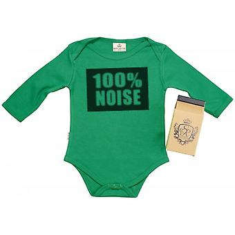 Spoilt Rotten 100% Noise Baby Grow 100% Organic In Milk Carton