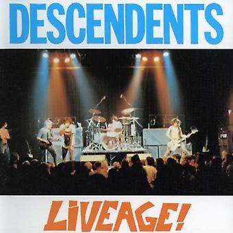 Descendents - Liveage [CD] USA import