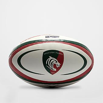 Gilbert Leicester Tigers replika rugby bold