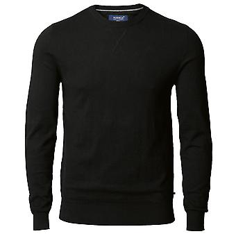 Nimbus Mens Lowell Crew Neck Knitted Cotton Sweatshirt Jumper