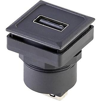 USB-mounted socket OKTRON-Jewel Socket, vertical vertical OKJ_USB_AA Schlegel Content: 1 pc(s)