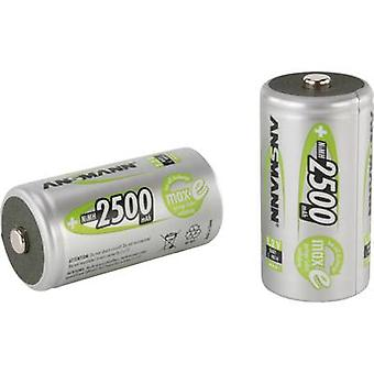 Ansmann maxE HR14 C battery (rechargeable) NiMH 2500 mAh 1.2 V 2 pc(s)